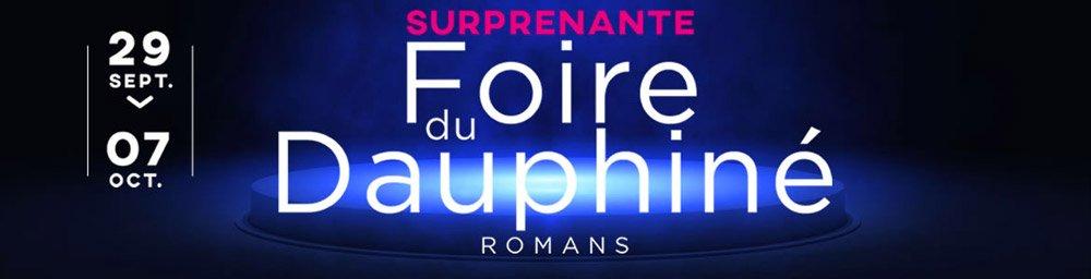 Retrouvez-nous à la Foire de Romans à partir du 29 septembre